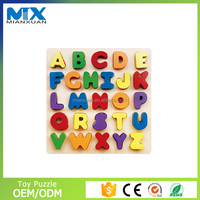 custom puzzle wood for kids,new design fashion 3d educational puzzle
