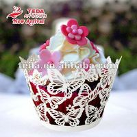 butterfly cake stand cupcake liners for wedding