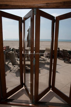 commercial used folding glass door