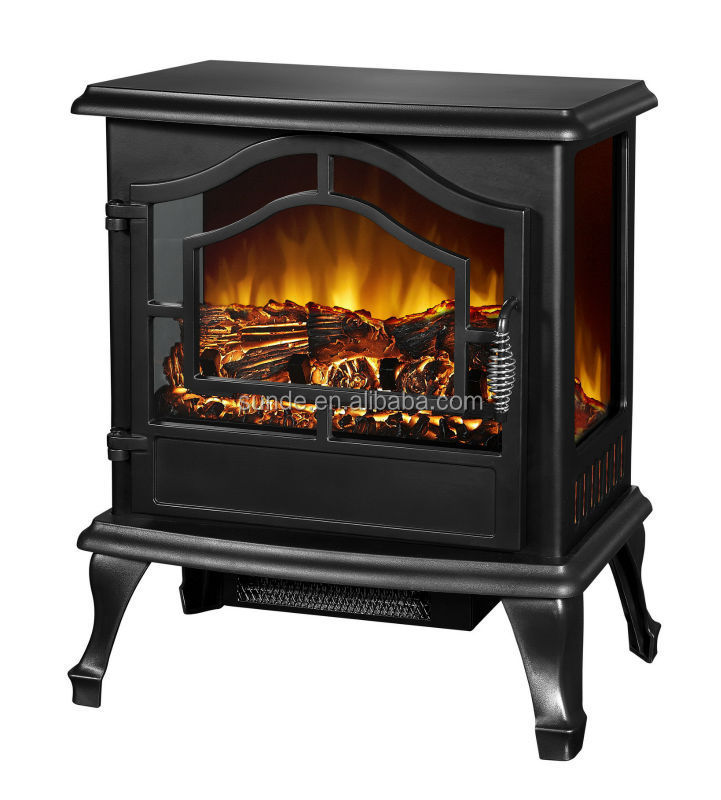 Small Electric Fireplace Heater Caesar Hardware Portable Mini Indoor Compact Freestanding
