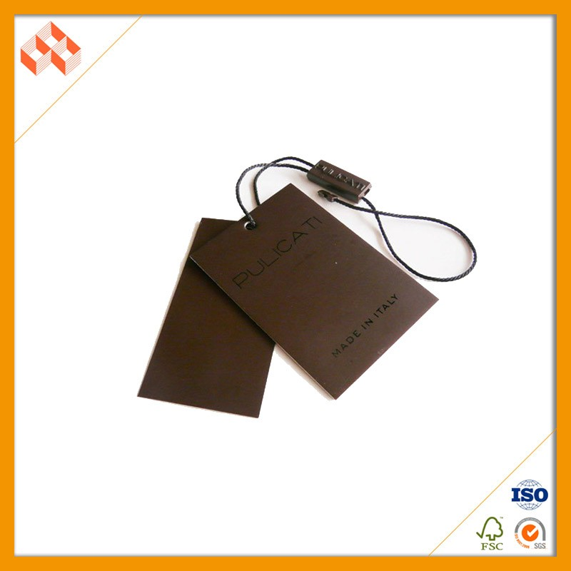 Wholesale Custom Garment Hang Tag Template