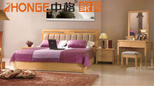 latest classic design wooden bedroom set w5303#