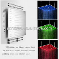 toilet shower head led stainless steel 31inch toilet shower head rain style