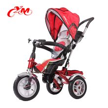 Alibaba good quality children bike three wheels/children tricycle rotary seat/children's tricycle handle seat baby stroller