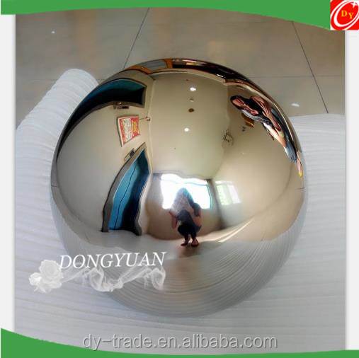 stainless steel metal giant holiday ball