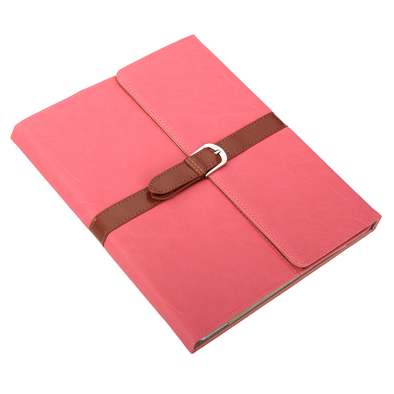 Big Sales Business PU Leather Flip Smart Cover Protective Stand Case for iPad 2 3 4 Wake & Sleep Retro Buckle Watermelon Red