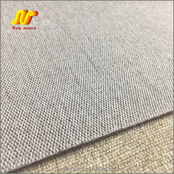 100% Polyester Linen Look Fabric for Sofa Upholstery