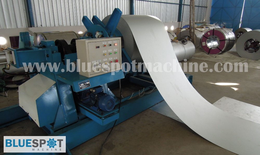 Hydraulic Uncoiler / Decoiler Machine (5 Tons)