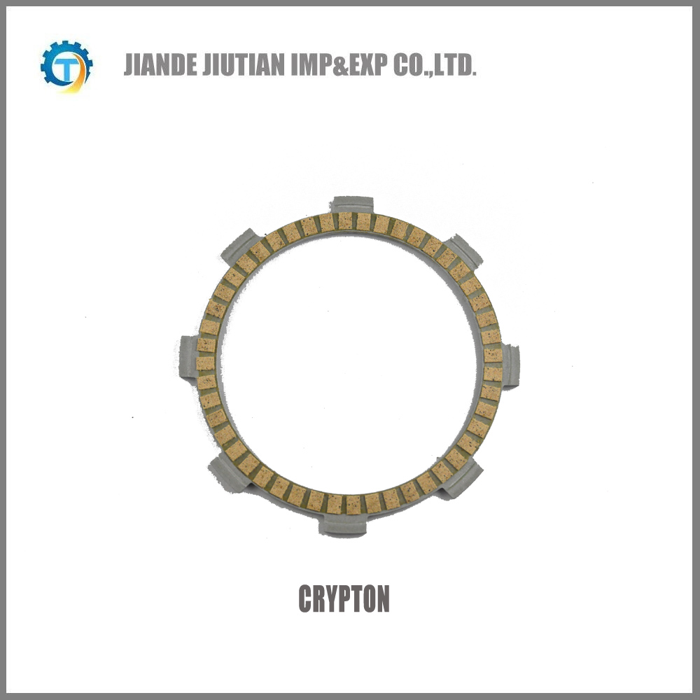 High Quality Indonesia Motorcycle Parts CRYPTON Motorcycle Bike Clutch Plate Disc