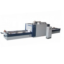 wood veneer vacuum membrane laminating press machine