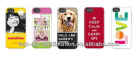 3D Blank sublimation promotion personalised phone case cover for iphone 5