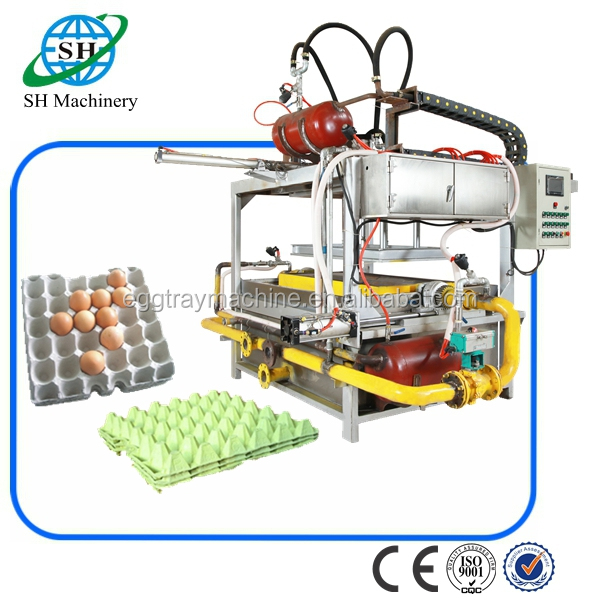 fiber molding egg tray machine india low investment high profit business