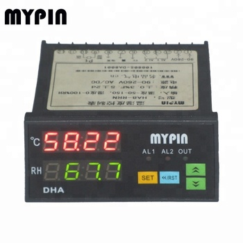 "HA series 0.8"" LED digital thermometer and Hygrometer"