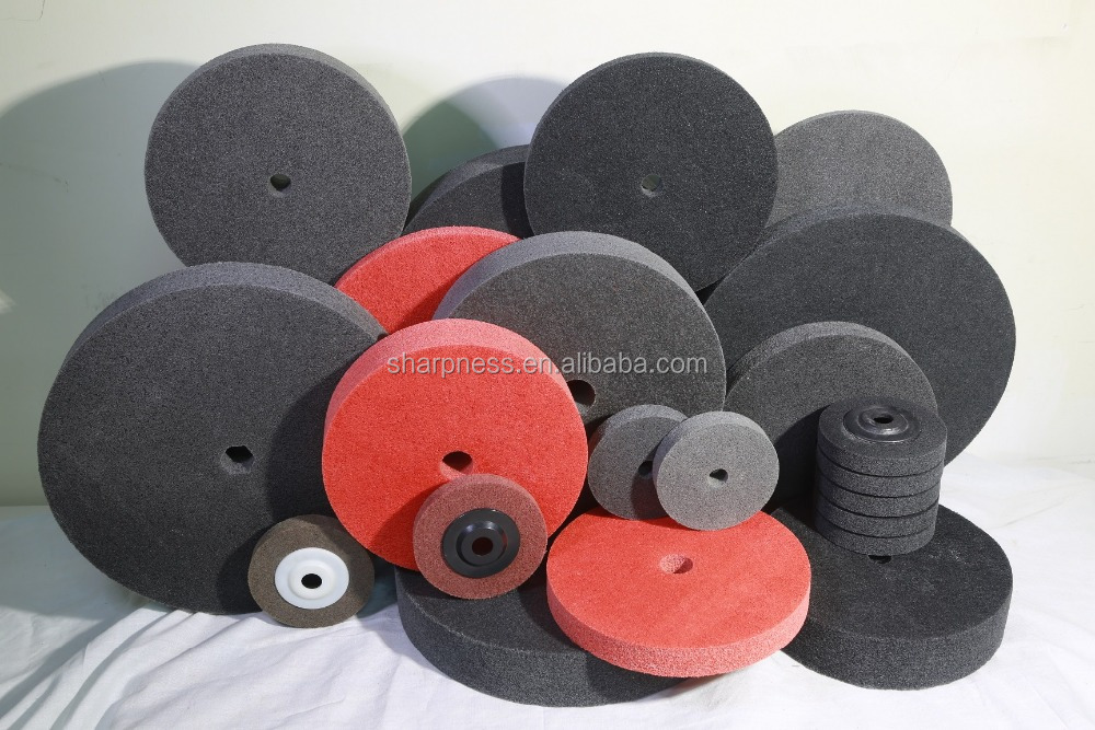 Sharpness nylon polishing wheel buff wheel for metal polishing steel sanding