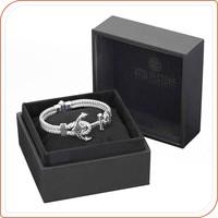 Custom faux leather gift bracelet souvenir boxes