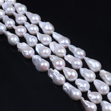 Wholesale natural fresh water pearls,13-16 mm baroque fresh water cultured pearls