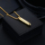 Hot Sale High Polish Black Bullet Cremation Pendant Cremation Urn Necklace Jewelry For Men