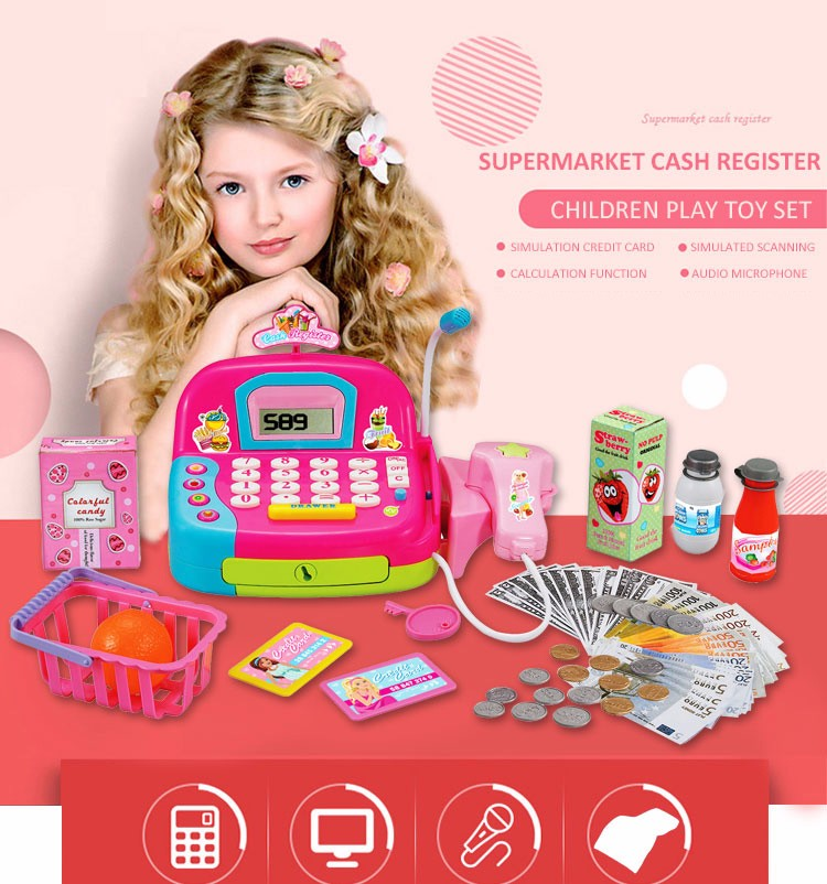 Discount Pretend Play Cash Register Toy