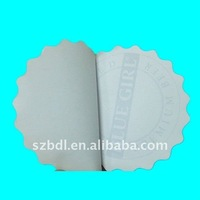 circle cheap sticky notepad for promotional
