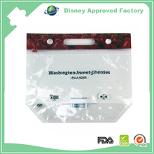 grapes/cherries fresh vegetables fruits packaging bags
