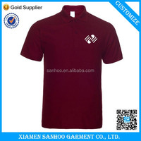 Hot Sale New Style Customize 100 Cotton Polo T Shirts For Men