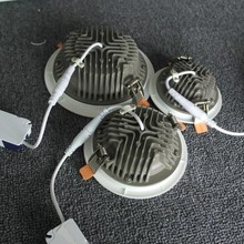 Zhongshan BBWY 2015 laest design Oliver color aluminum housing dimmable LED downlights