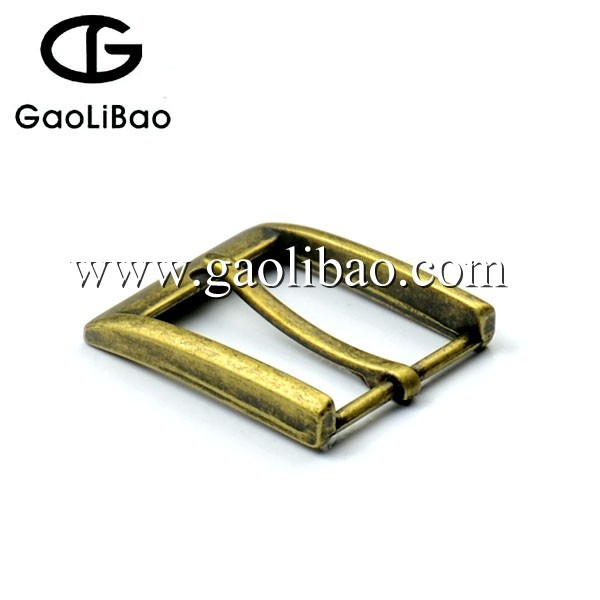 2016 good quality 35mm anti-brass pin buckle zinc alloy buckle for men ZK-350245