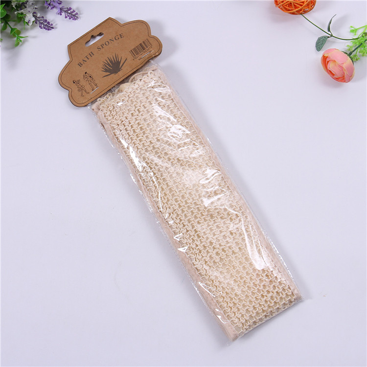 Hotselling cheap promotional SPA Exfoliating natural sisal scrubber loofah
