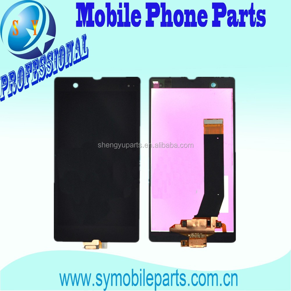 Factory Lowest Price For Sony Xperia Z L36H LCD Touch Screen Assembly