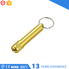 Alloy metal and LED key chain type led light key chain with key ring