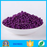 High quality Activated Alumina with KMnO4 to clean the air
