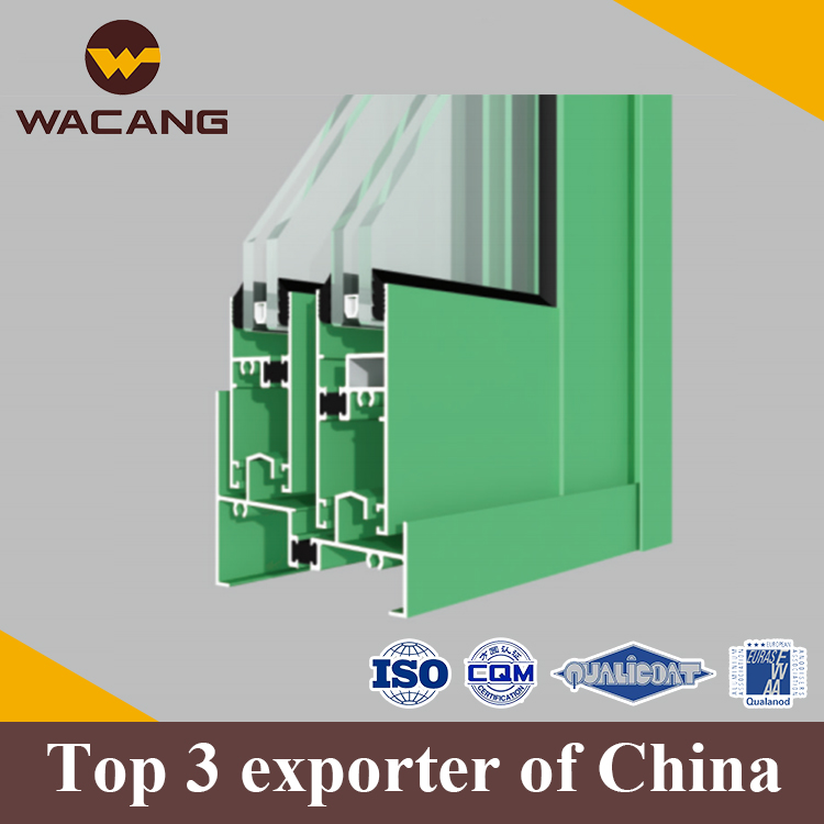 Office partition aluminums profile for window/door