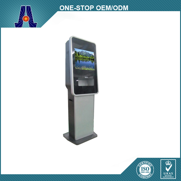 custome made kiosk manufacturer terminal new design touch screen terminal