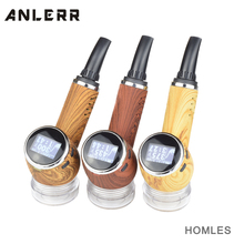 Chinese Supplier Homles Pipe Shape dry herb vaporizer 2017 Herbal Vape Pen Vapor Starter kits Temperature Control