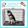 Pet Crate Double Door Folding Metal Large Dog Cages