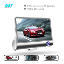 "2018 new product 4.0""inch lcd night vision car dashboard camera Q37 car mirror camera"