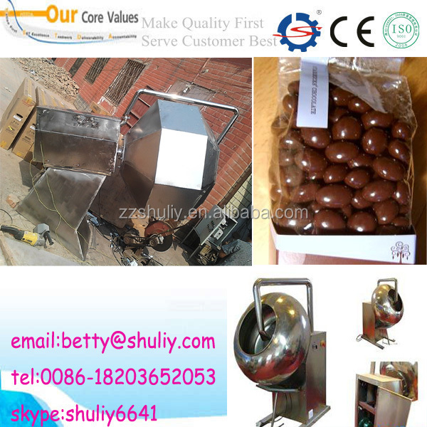 nuts/candy/tablet/peanut glazing machine/sugarcoating machine/chocolate coater