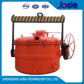 Gongyi Professional Factory Foundry Industry Usage 12T Vacuum Ladle