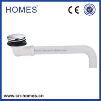 Clic-clac bath waste drain large plug with 26mm plastic pipe fitting