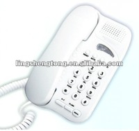 Landline telephone, corded Pulse/Tone switch, cell phone style, portable and economical, best telecommunication products.