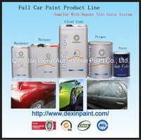 Car paint clear coat hardener