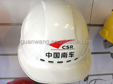 white color ventilated safety helmet hat type /personal security safety products