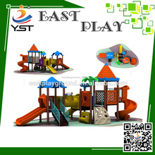 2016 The toys plastic used outdoor playground equipment for sale