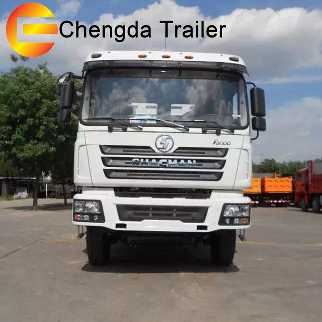 China supplier 6x4 50ton shacman truck tractor 10 wheeler EURO3 460hp