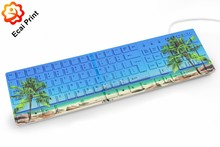 latest design high quality digital printing heat transfer computer keyboard