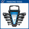 Metric Ratchet Spanner Set Combination Wrench
