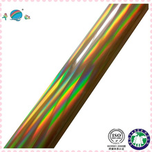 laser rainbow hot stamping plastic foil