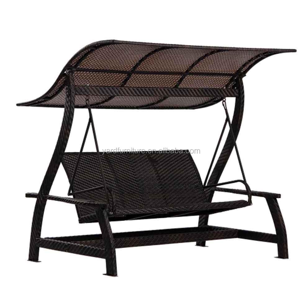 Rattan outdoor swing chair indoor hanging chair rocking chair ratta - Patio Rattan Egg Chair Garden Swing