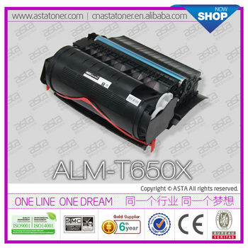 for Lexmark printer toner T650