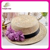 custom made straw boater hats with ribbon for sale top sale china straw hats